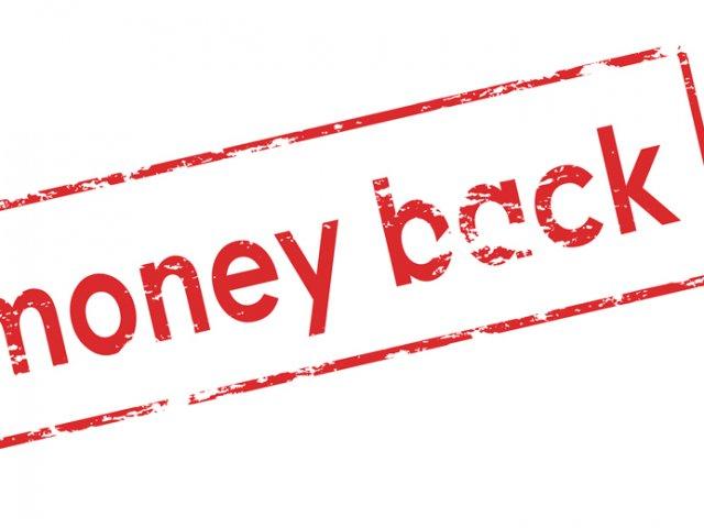 Money Back Banner