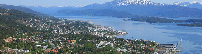 Molde By Oversiktsbilde