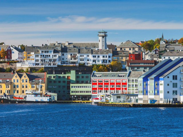 Kristiansund Cityscape Norwegian Town